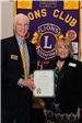 Mayor Burdette Presents 75th Anniversary Certificate of Recognition