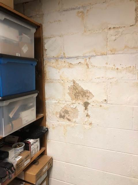 Water Intrusion Block Wall