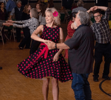 Spotlight Swing Dance Photo